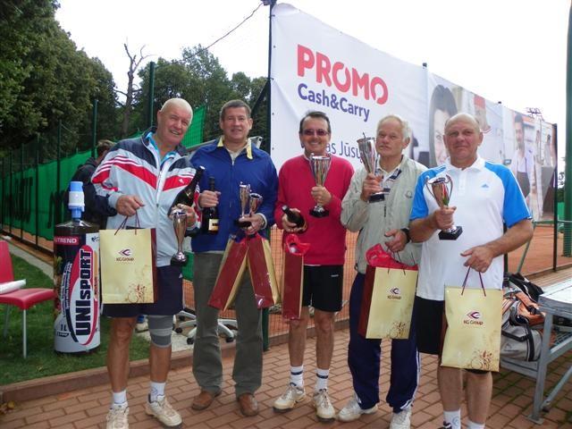 Teniso dvejetų turnyras BimBam taurė 2012