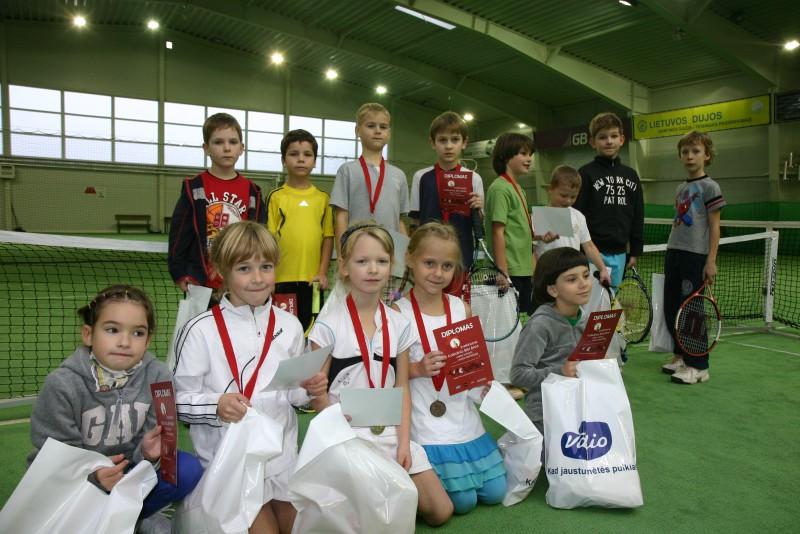 Kalėdinis BimBam vaikų teniso turnyras 2011