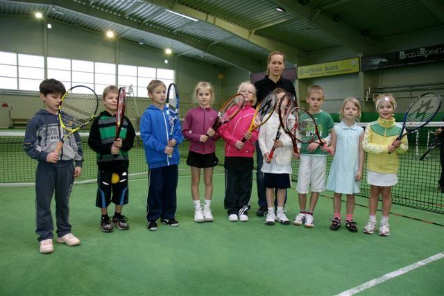Kalėdinis BimBam klubo vaikų teniso turnyras 2010