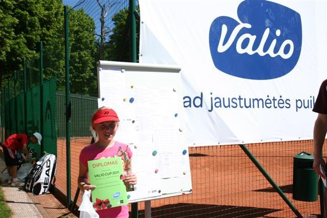 Vaikų teniso turnyras Valio Cup 2011