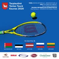 Tarptautinis kviestinis teniso turnyras Kaunas 2020