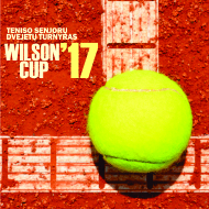 WILSON CUP'17 senjorų dvejetų turnyras